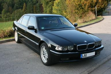 BMW 750iL Protection