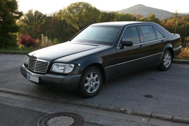 Mercedes Benz S500L Guard B7