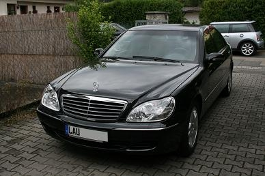 Mercedes Benz S500L Guard B4